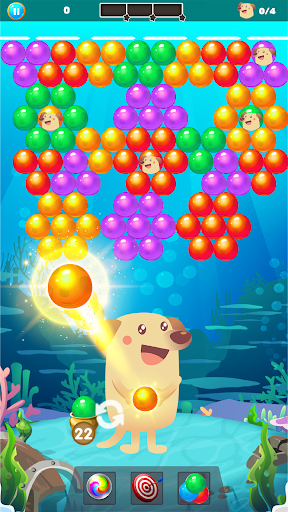Bubble Shooter Dog - Classic Bubble Pop Game modavailable screenshots 2