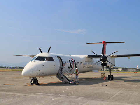 JAC 3592便 松山空港にて その1