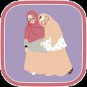 Cartoon Cartoon Muslimah HD icon