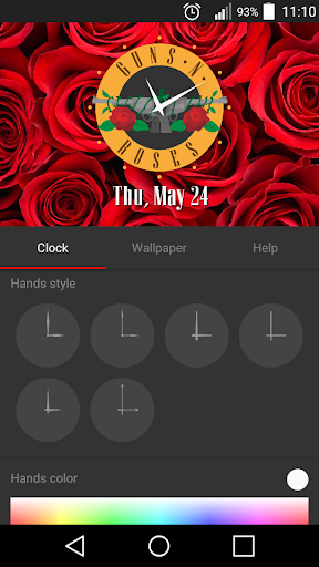 Guns N Roses Clock Widget And Wallpapers Apps On Google Play