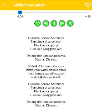 Download Lagu Allahumma Labbaik Terbaru Nissa Sabyan APK