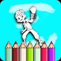 alien ben  coloring book 2020 icon