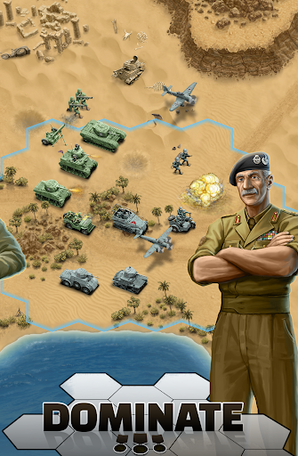 1943 Deadly Desert - a WW2 Strategy War Game 1.3.0 6
