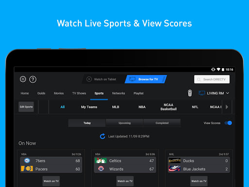 DIRECTV for Tablets 5.8.005 screenshots 4