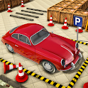 Classic Car Parking Driving School icon
