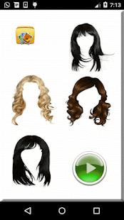 Girls Hair Style Face Changer - náhled