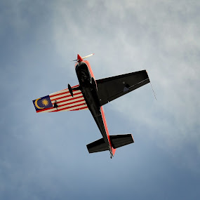 Fly With Pride by Syafizul  Abdullah - Transportation Airplanes