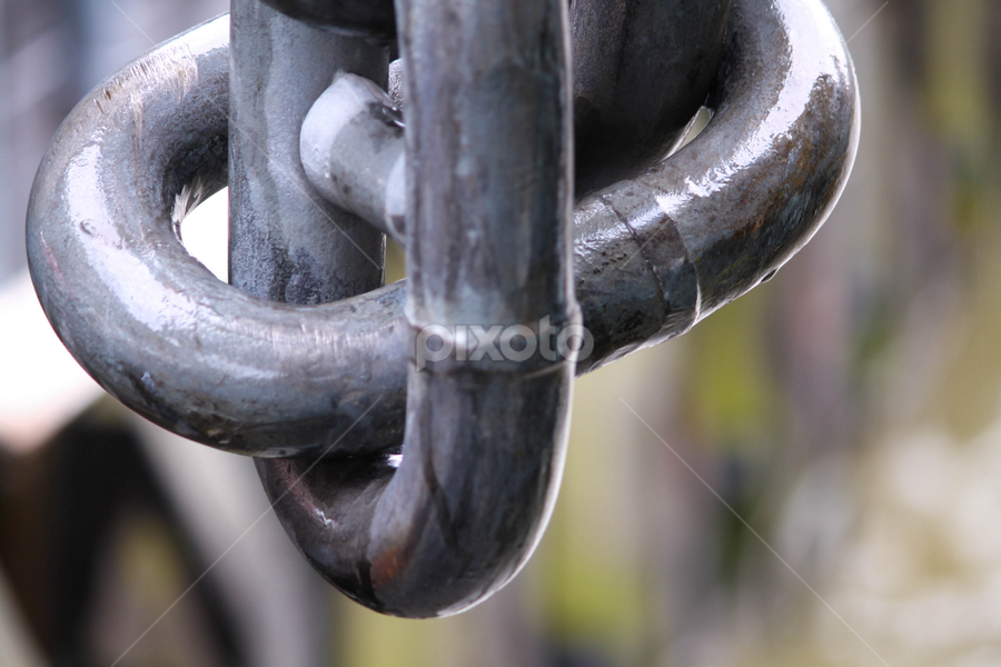 Section of a Chain at London Harbour by Sameer Paranjape - Products & Objects Industrial Objects