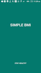 Simple BMI - náhled
