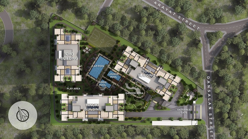 Kai Garden Residences, Mandauyong site development plan