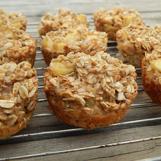Pineapple Coconut Oatmeal Muffins