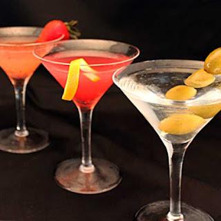 3 Classic Martinis.