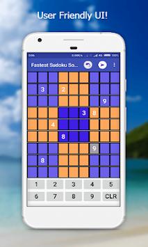 Fastest Sudoku Solver apk screenshot