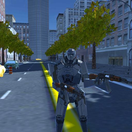 Soldier Robot AK47