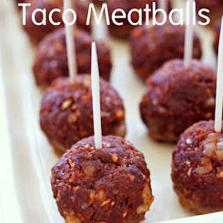 Cocktail Taco Meatballs