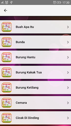 Lagu Anak Indonesia TK & PAUD  screenshots 3