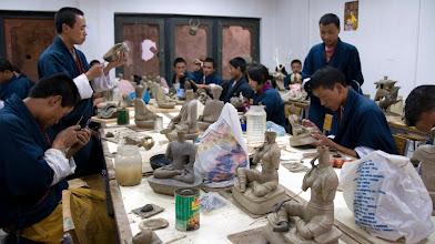 Photo: In der Kunsthandwerkschule