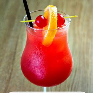 New Orleans Hurricane Drink.