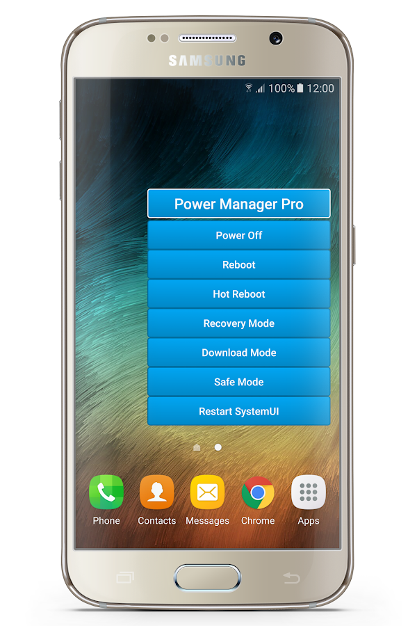 Power Manager Pro [Reboot]- screenshot