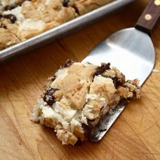 Coconut Fudge Cookie Bars