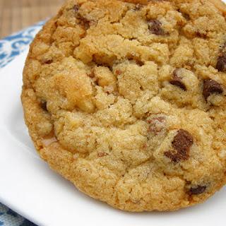 Crunchy Heath Chip Cookies.