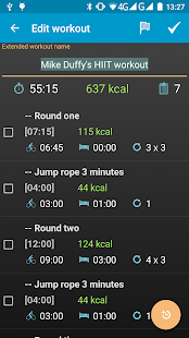Interval Timer 4 HIIT Workout- screenshot thumbnail