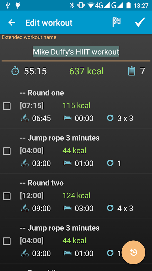 Interval Timer 4 HIIT Workout- screenshot