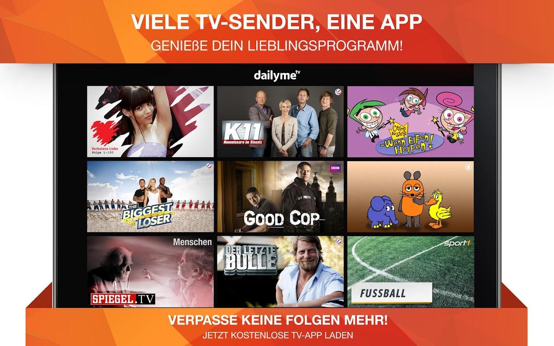 dailyme TV, Serien & Fernsehen - screenshot