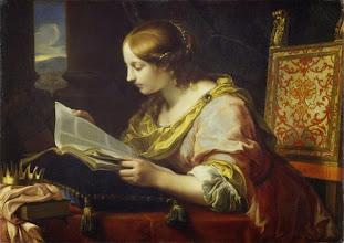 "Photo: Onorio Marinari, ""Santa Caterina di Alessandria"" (XVII sec.)"