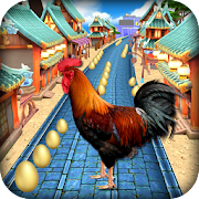 Game Angry Rooster Run - Animal Escape Subway Run APK for Windows Phone