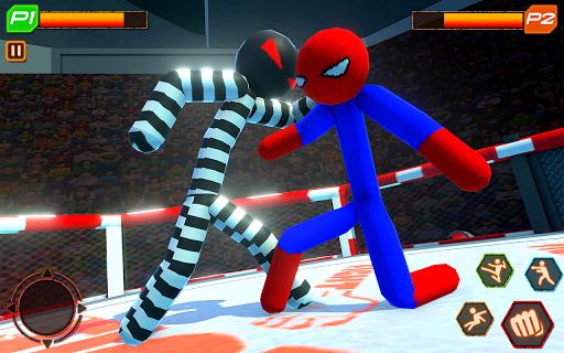 Stickman Wrestling: Stickman Fighting Game android2mod screenshots 5