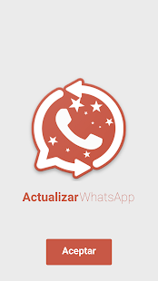 Actualizar whatsapp CHAT Screenshot