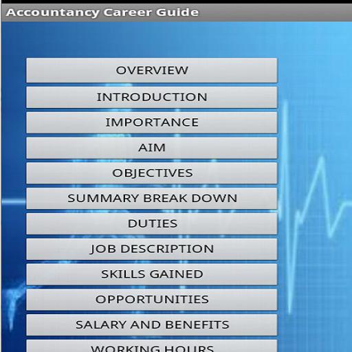 Accountancy Career Guide 2.4.1 screenshots 3