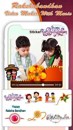 Rakshabandhan Video Maker screenshot 5