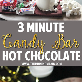 3 Minute Candy Bar Hot Chocolate