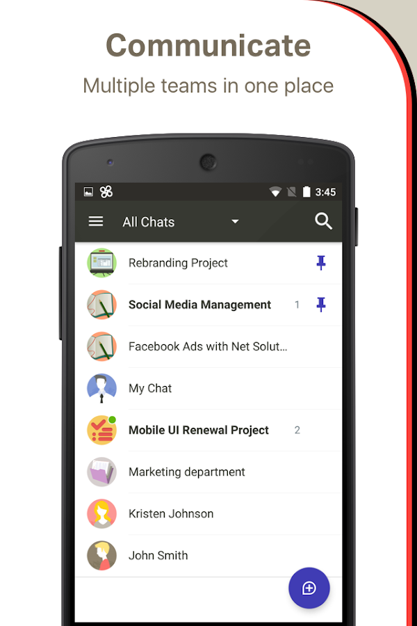 ChatWork - Business Chat App- screenshot