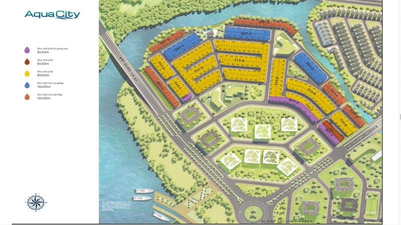 mat bang the suite du an aqua city
