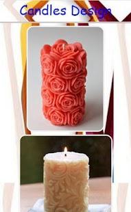 Design svíček - náhled