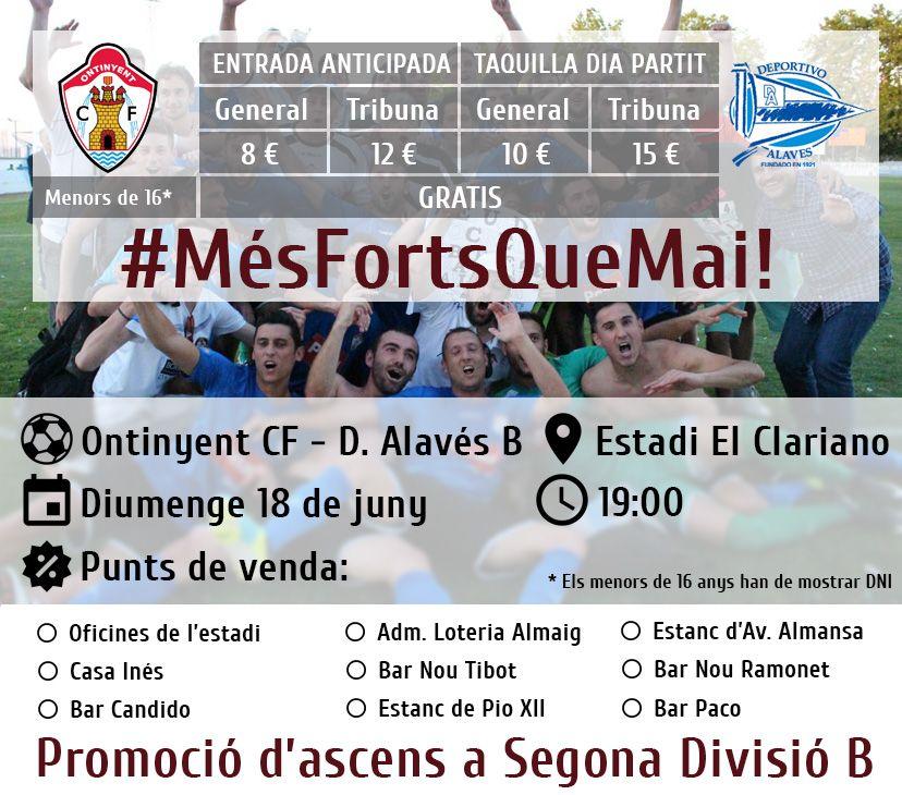 Ontinyent CF - Deportivo Alavés B