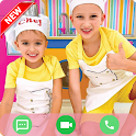 Vlad and Nikki Call and chat in real simulator icon