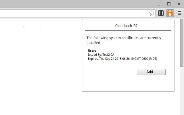 Cloudpath Certificate Generator