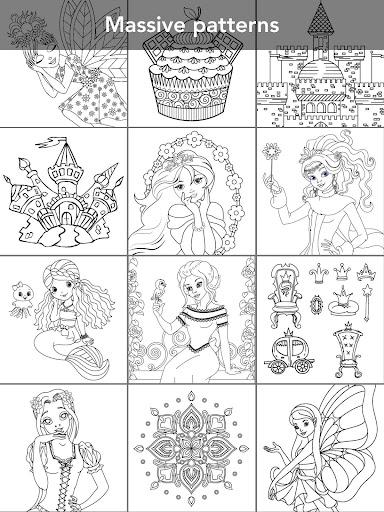 Princess Coloring Book Screenshot 18