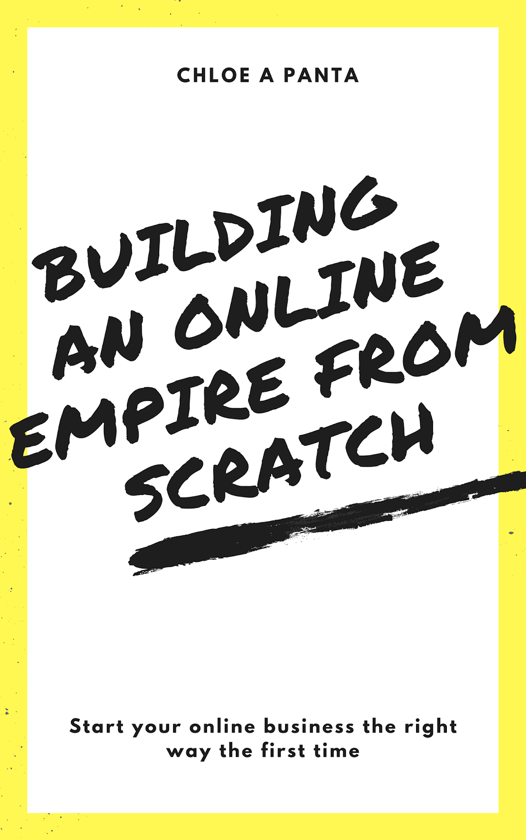 Chloe Panta - Building An Online Empire From Scratch