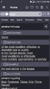 English Filipino Dictionary nao Android Mod APK 1
