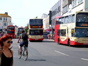 Photo: Every bus is named after a famous Brighton resident