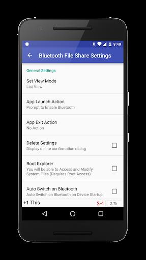 Bluetooth File Share  screenshots 6