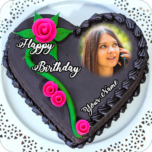 Happy birthday cake photo editor download