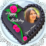 Name Photo On Birthday Cake 7.0.2 Icon