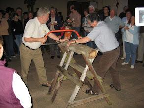 Photo: 2006 in Gutenberg - Gemeinsame Aufgabe der beiden Bürgermeister