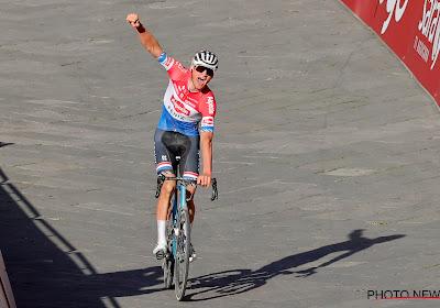 Canyon geeft info over de fiets waar Van der Poel de Strade Bianche mee won